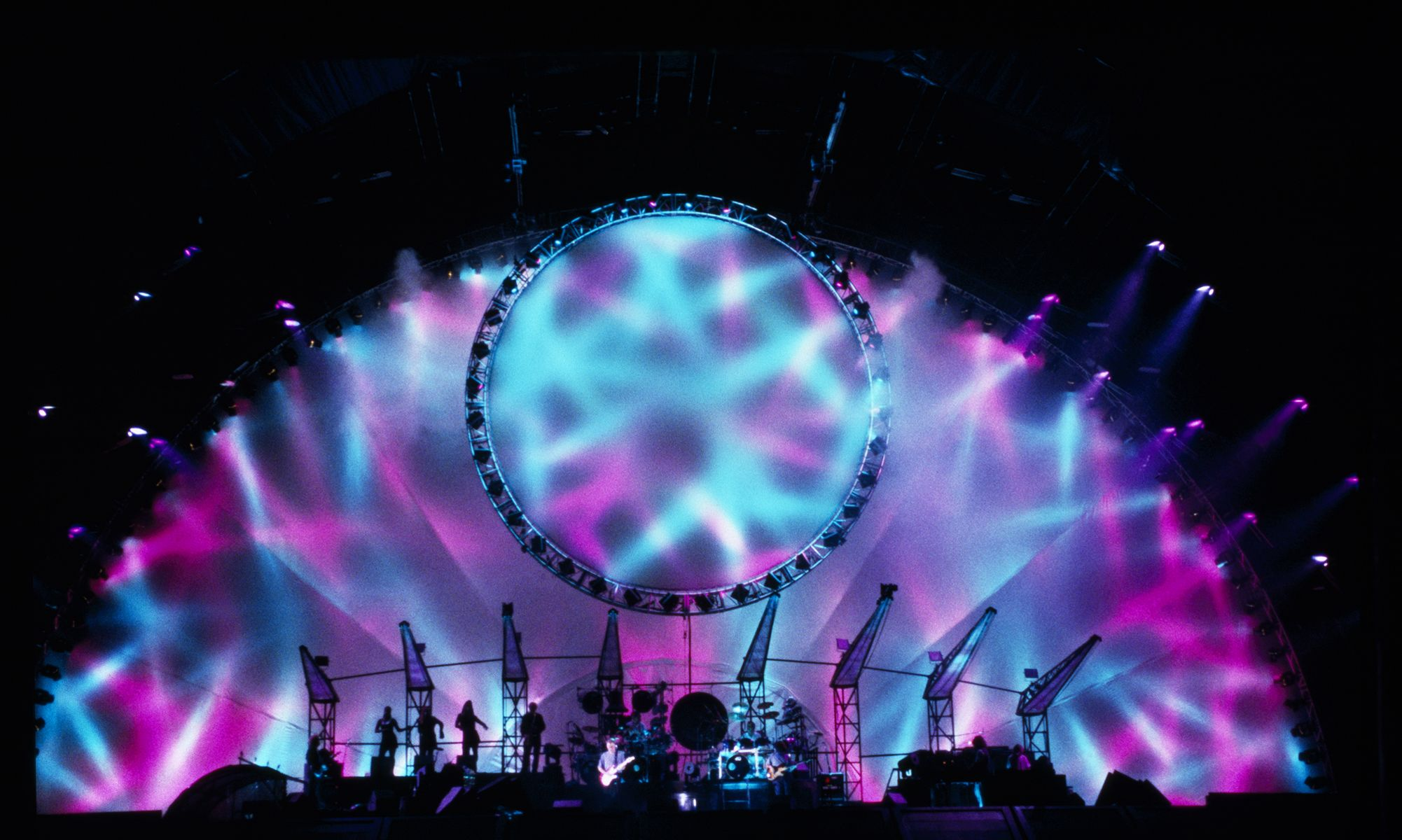 Pink Floyd Laser Light Show Pink Floyd Pulse Full Concierto