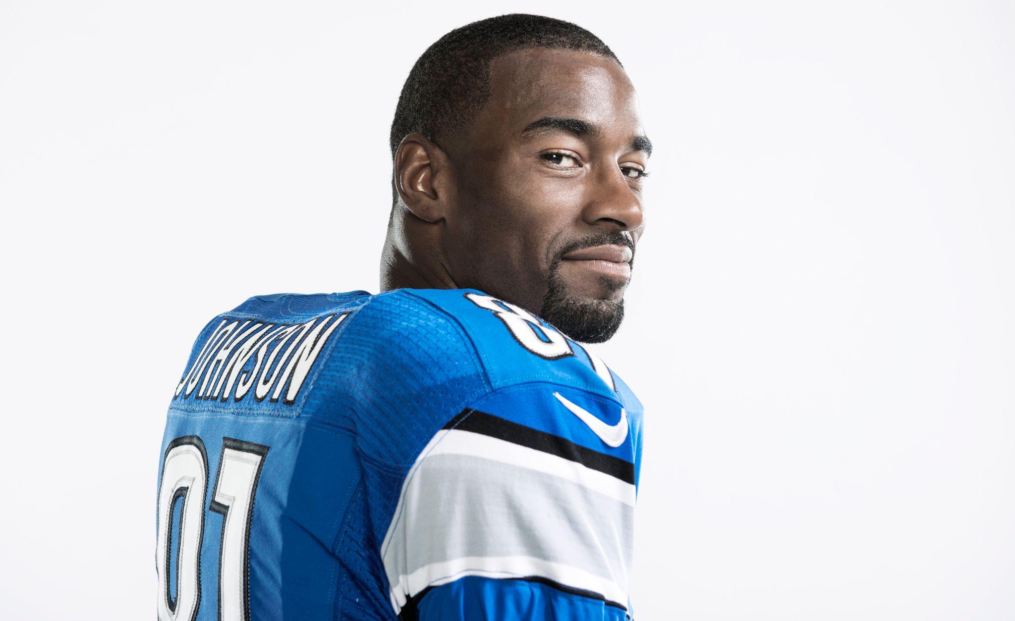 """Calvin Johnson a.k.a. """"Megatron"""" (American football wide"""