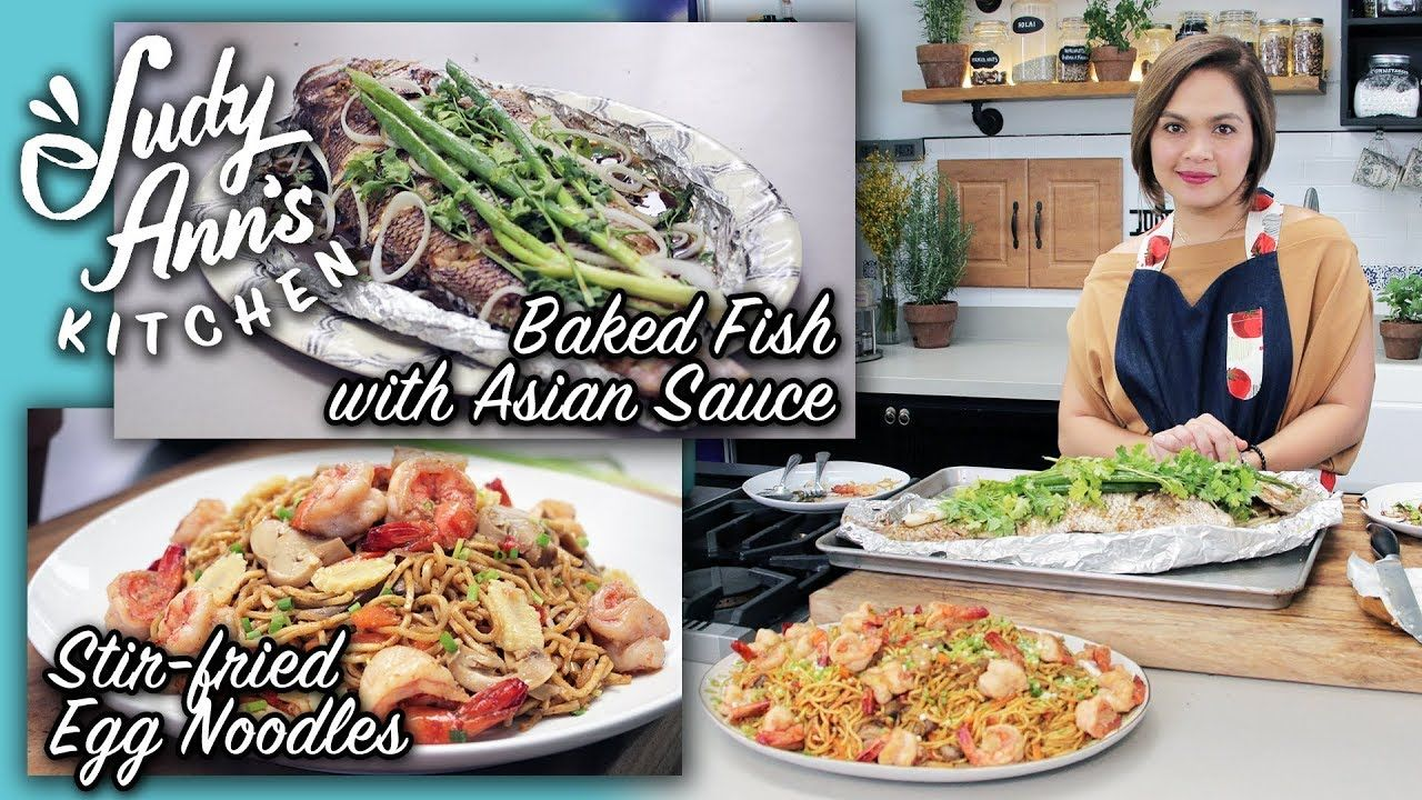 Judy Ann S Kitchen 8 Ep 2 Baked Fish With Asian Sauce And