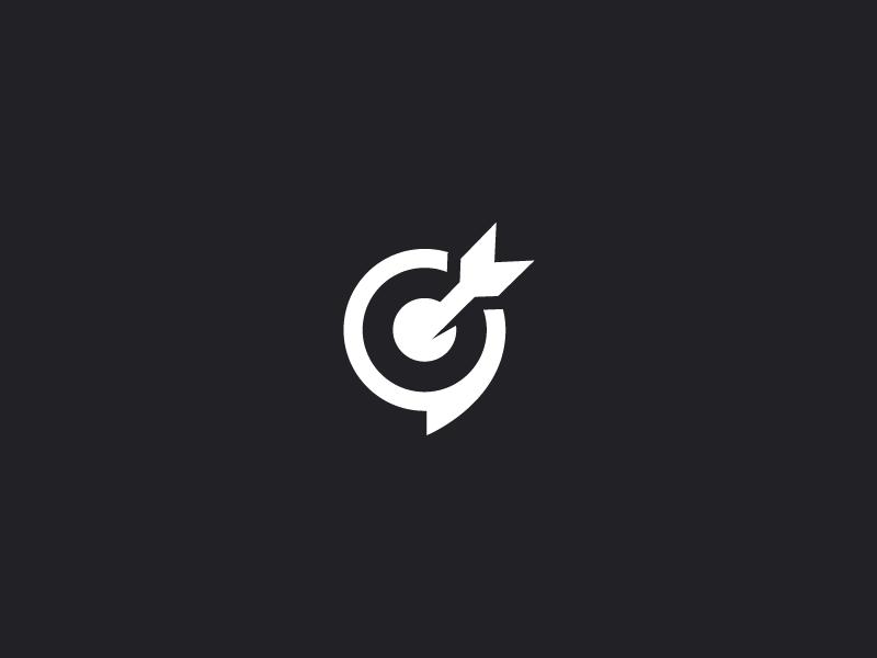 Chat Target Logo Inspiration Creative Logo Design Creative Graphic Design Logo