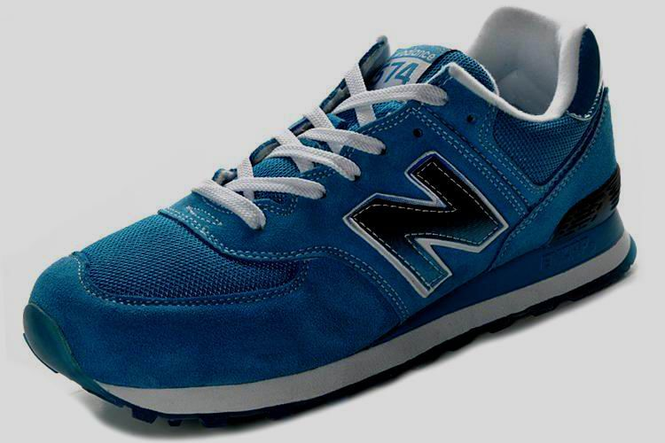 New Balance NB ML574SNT Royalblue White Black For Men shoes