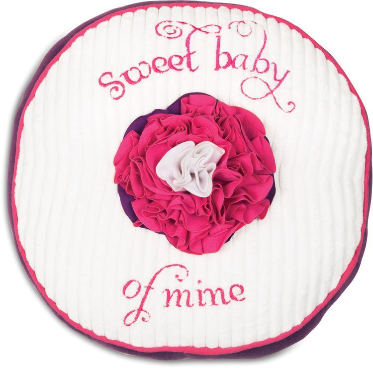 Itty Bitty /& Pretty 0-12 Month Pink /& Purple Flower Baby Hat