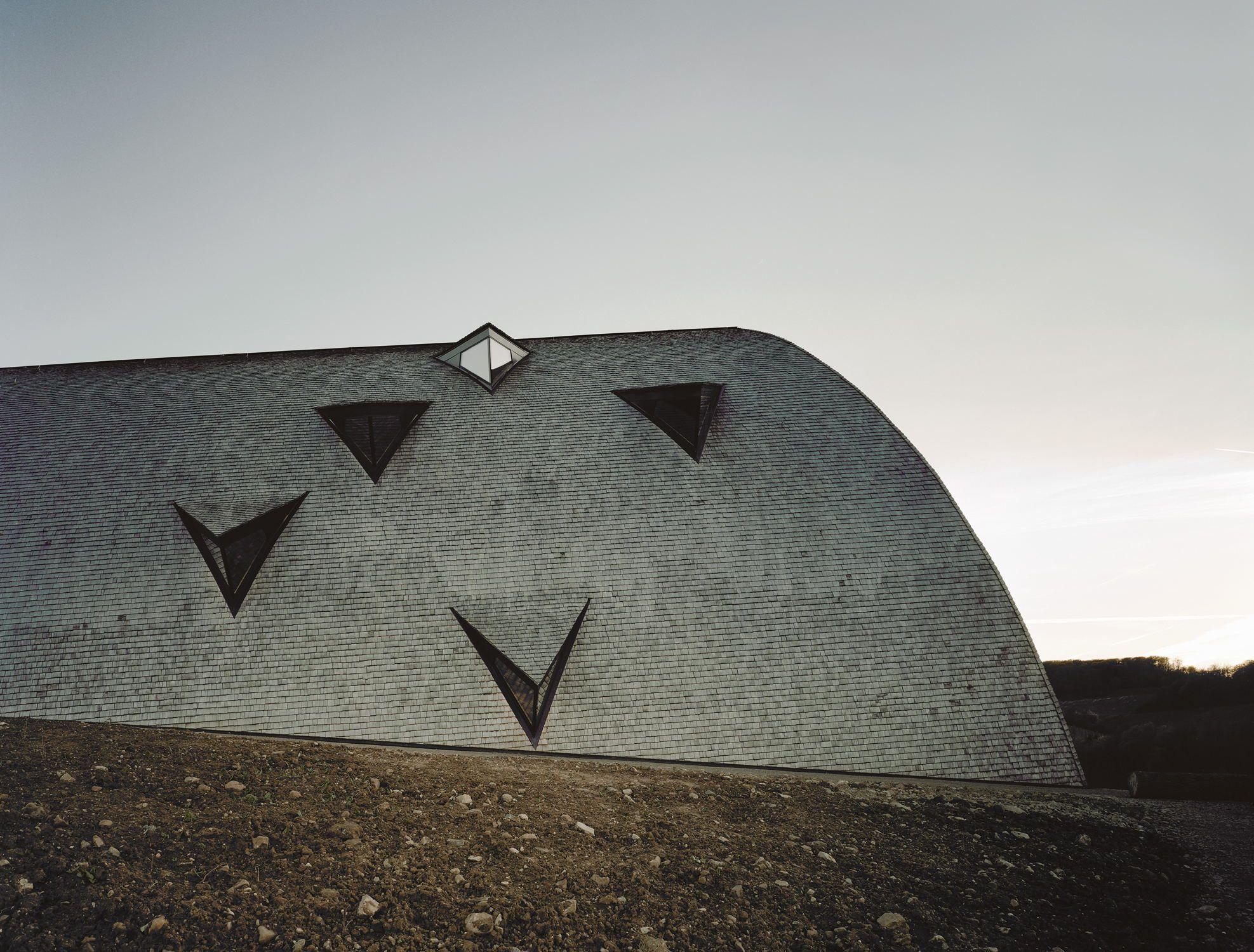 Architekten Luxemburg langhaus neues biodiversum in luxemburg brick facade facades