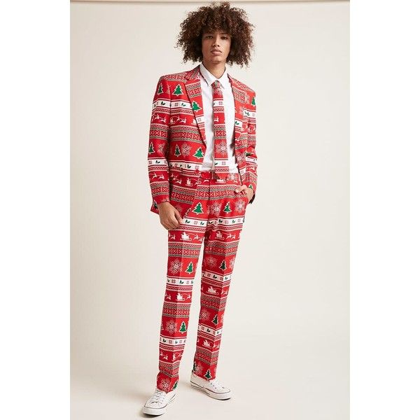 Forever21 Opposuits Fair Isle Print Suit Set (62 CAD) ❤ liked on ...