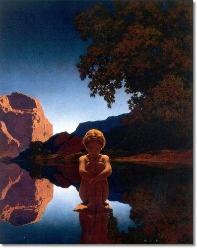 Maxfield Parrish Evening, 1921 | Life magazine covers, Maxfield parrish, Art