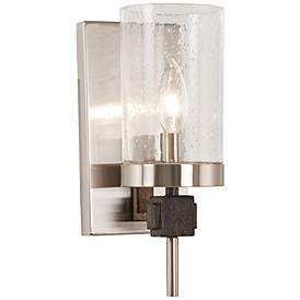"Photo of Bridlewood 11 1/4 ""wall light made of brushed nickel – # 47G95 