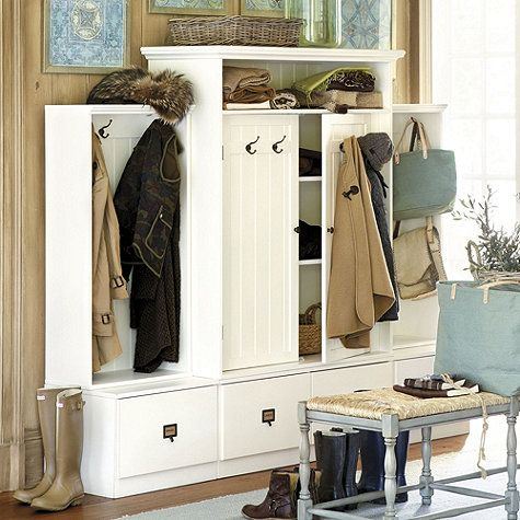 Superior Beadboard Entry Cabinet With Doors | Ballard Designs