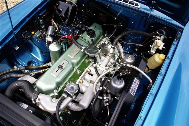 MGC Prototype engine bay  | MGC & MGR V8 | Mg cars, Cars