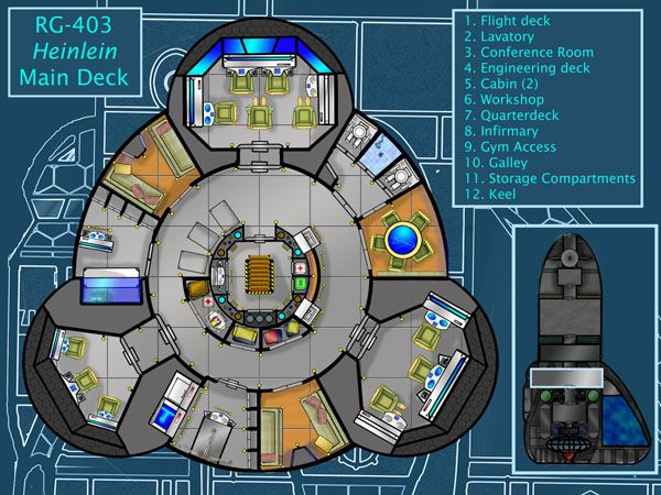 Deck Plans Atomic Rockets Deck Plans Star Wars Ships Modern Map