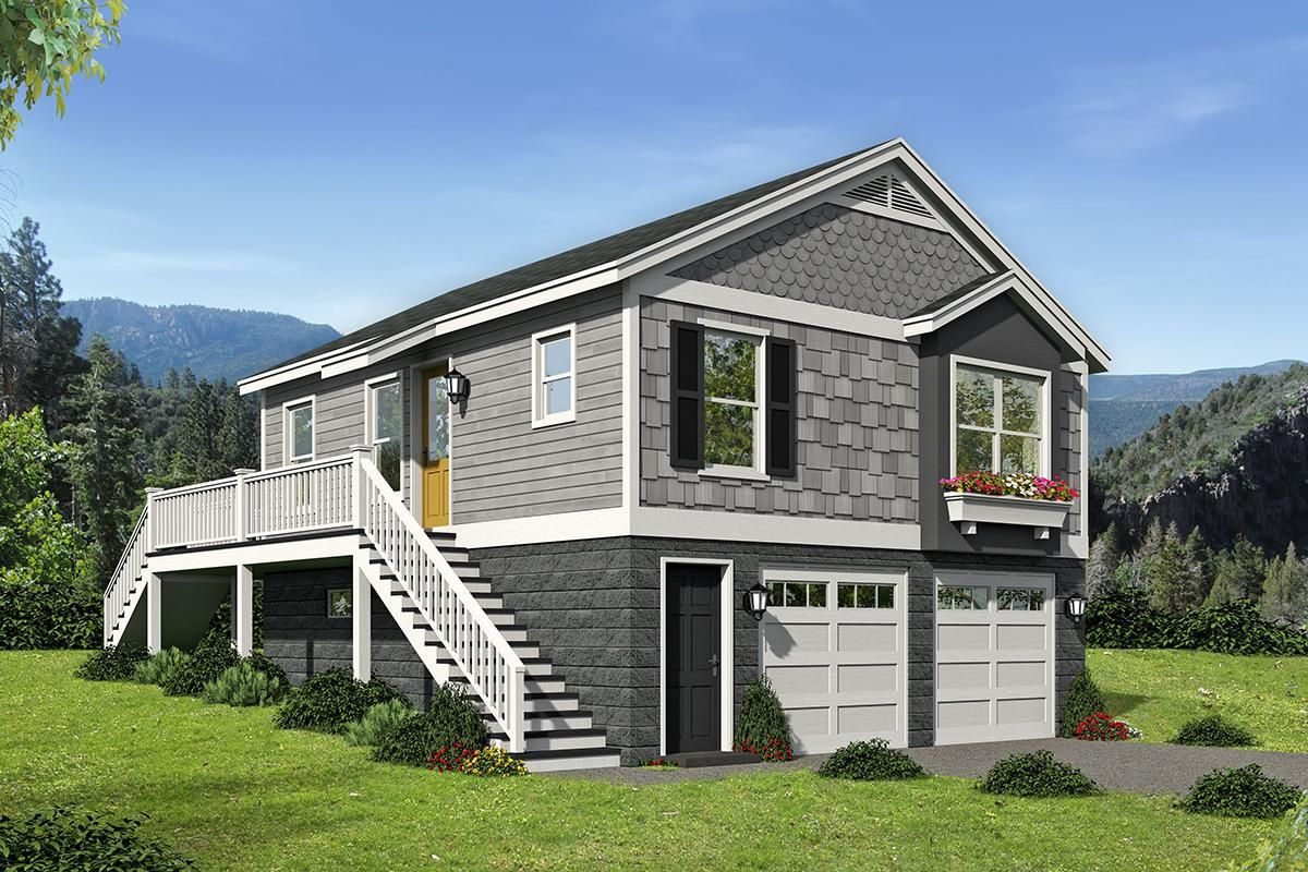house plan 94000083  vacation plan 780 square feet 1