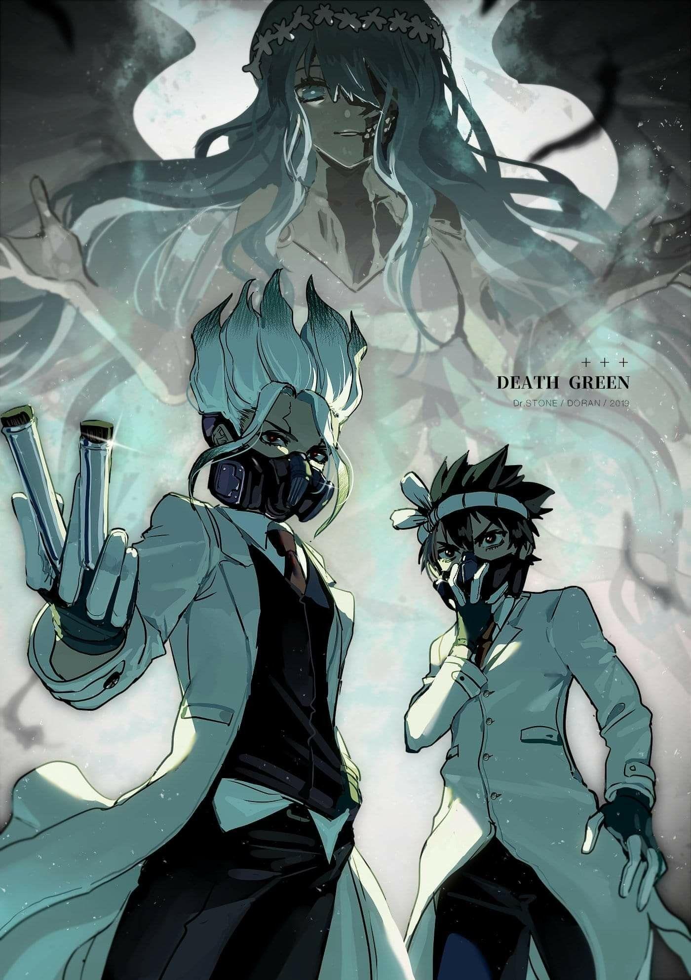Imagem de Personagens de anime por Elena S em Dr. Stone