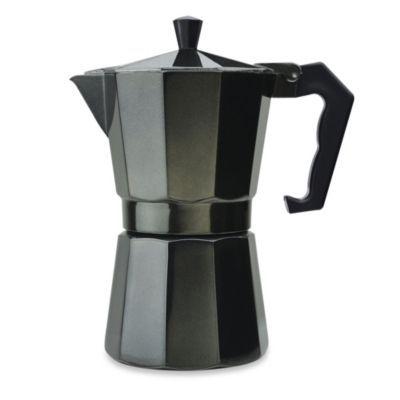 Primula Aluminum 6-Cup PEBK-3306 Stovetop Espresso Maker in Black - BedBathandBeyond.com $19.99 #espressomaker
