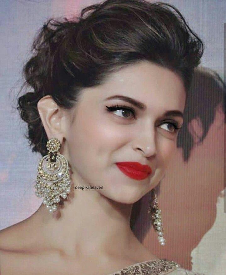 Pin By Shiyamala Sundar Raju On Makeup Bollywood Hairstyles Deepika Hairstyles Deepika Padukone Hair