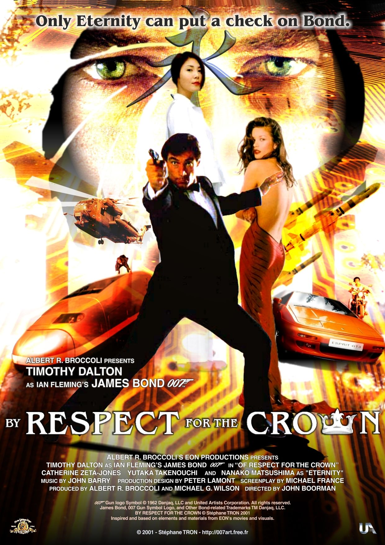 By Respect For The Crown Poster 1 Bond 17 Bond Films