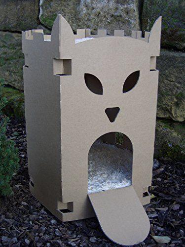 Aus Der Kategorie Hohlen Hauser Gibt Es Zum Preis Von Eur 19 95 Unsere Neue Katzenburg 6 Eckig Ist Fur Alle Katzen G Katzen Haus Katzenschloss Katzenhohle
