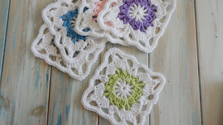 How To Crochet a Vintage Granny Square | crochet | Pinterest ...