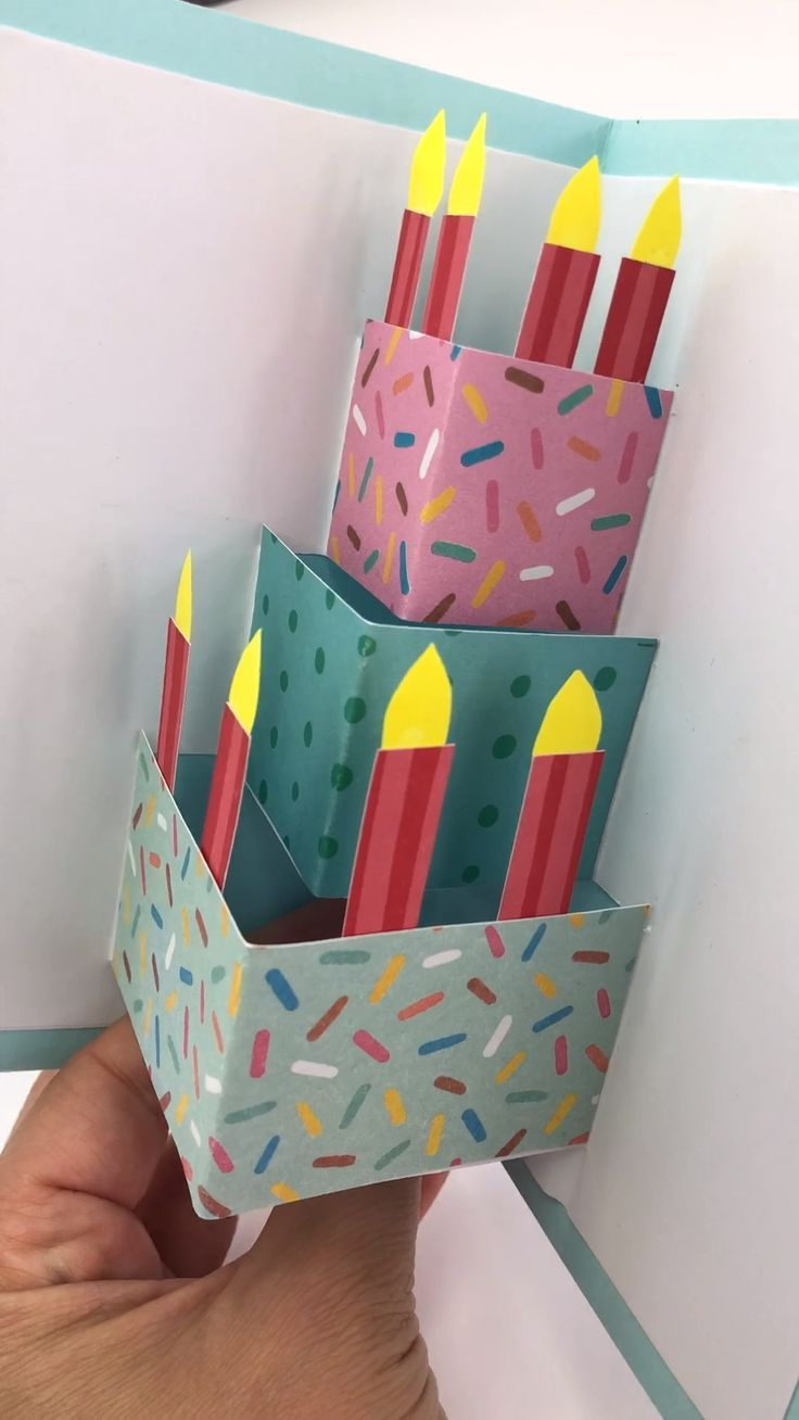 Photo of Easy Pop Up Birthday Card DIY – Red Ted Art – Make crafting with kids easy & fun