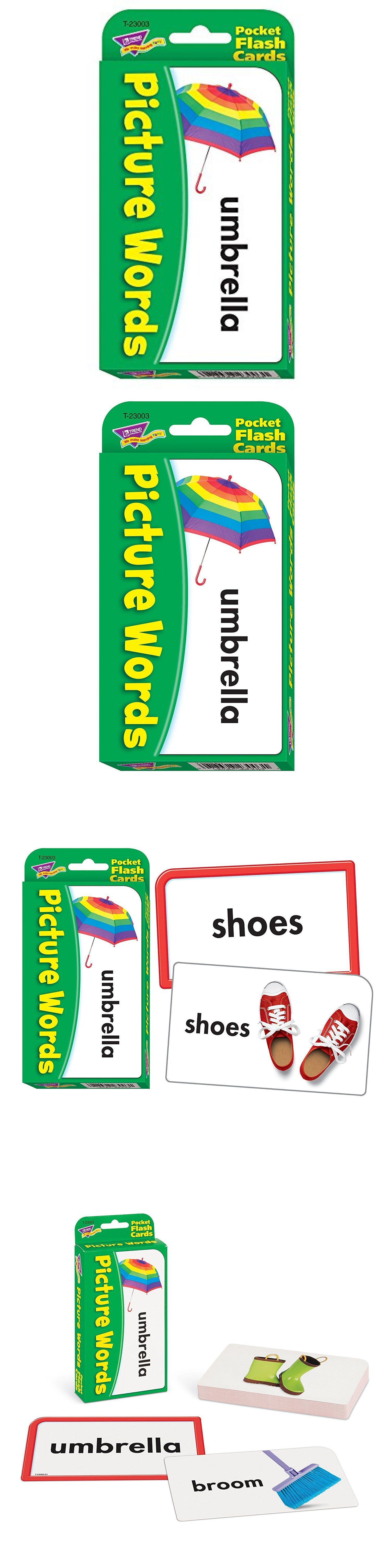 Other Alphabet and Language Toys 11732: Picture Words Pocket Flash Cards Educational Toy Fun -> BUY IT NOW ONLY: $30 on eBay!