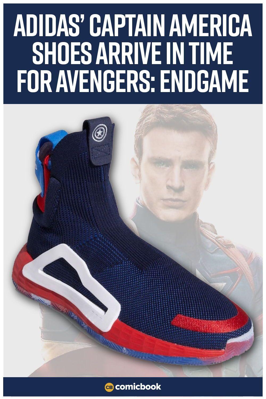 fcb82e04cda5 Adidas' Captain America Shoes Get Release Date | Marvel Superheroes ...