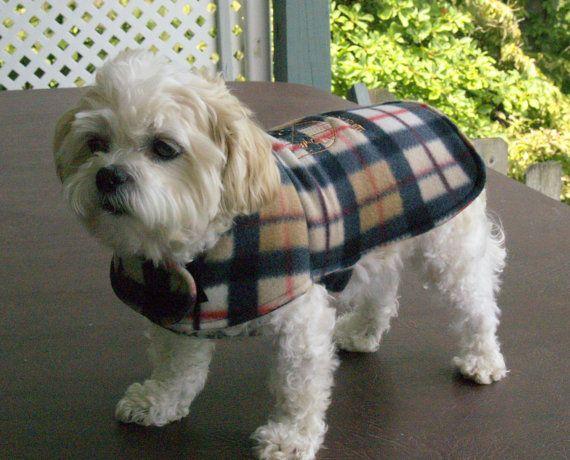 Fleece Dog Coat   Dogs   Pinterest   Hunde