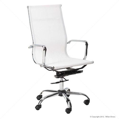 office chair designer high back white work spaces pinterest