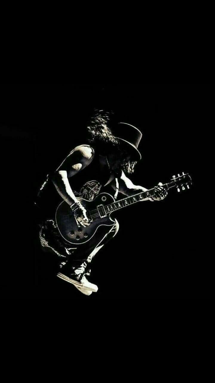 There 39 s nothing slash can 39 t do guns n 39 roses pinterest - Rock wallpaper ...