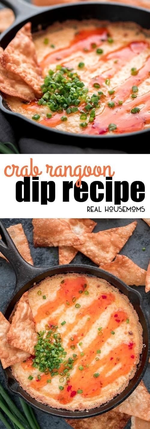 Crab Rangoon Dip has all the elements of yourfavorite American-Chinese appetizerbut is much easier to make. It's the best start to your next holiday party! via @realhousemoms #crabrangoondip Crab Rangoon Dip has all the elements of yourfavorite American-Chinese appetizerbut is much easier to make. It's the best start to your next holiday party! via @realhousemoms #crabrangoondip Crab Rangoon Dip has all the elements of yourfavorite American-Chinese appetizerbut is much easier to make #crabrangoondip