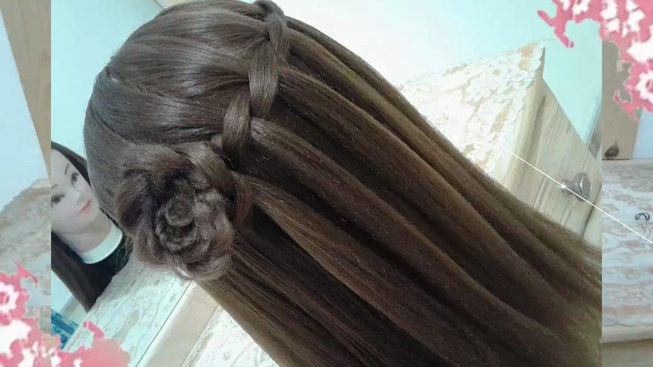 Peinados para cabello largo bonitos y faciles