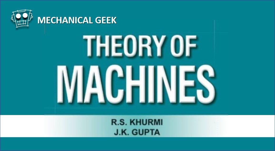 PDF] Theory of Machines by RS Khurmi pdf free download