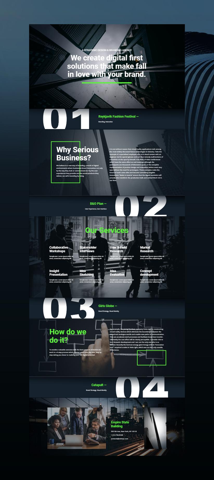 Nicepage Free Template Business Web Design Web Banner Design Website Banner Design
