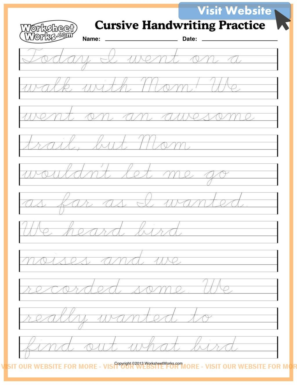 Lettering Practice Sheets Free Printable Cursive Handwriting Practice Cursive Writing Worksheets Cursive Handwriting Worksheets