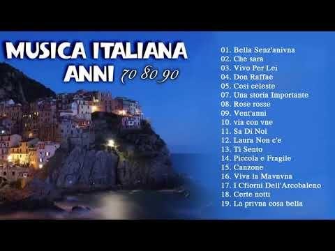 Musica Italiana Anni 70 80 90 I Migliori Best Italian