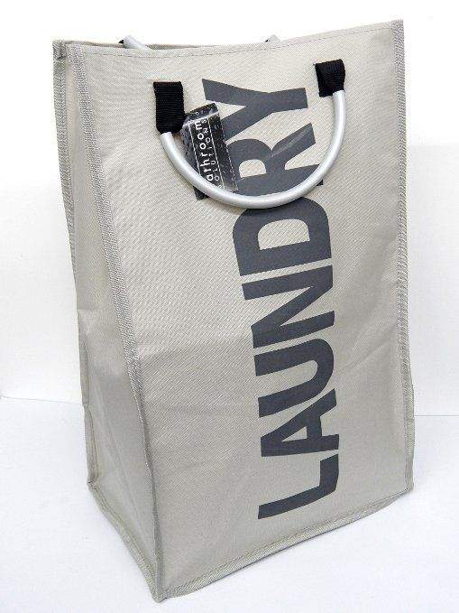 Laundry Bags With Handles Folding Collapsible Laundry Basket Bag Bin Storage Hamper With