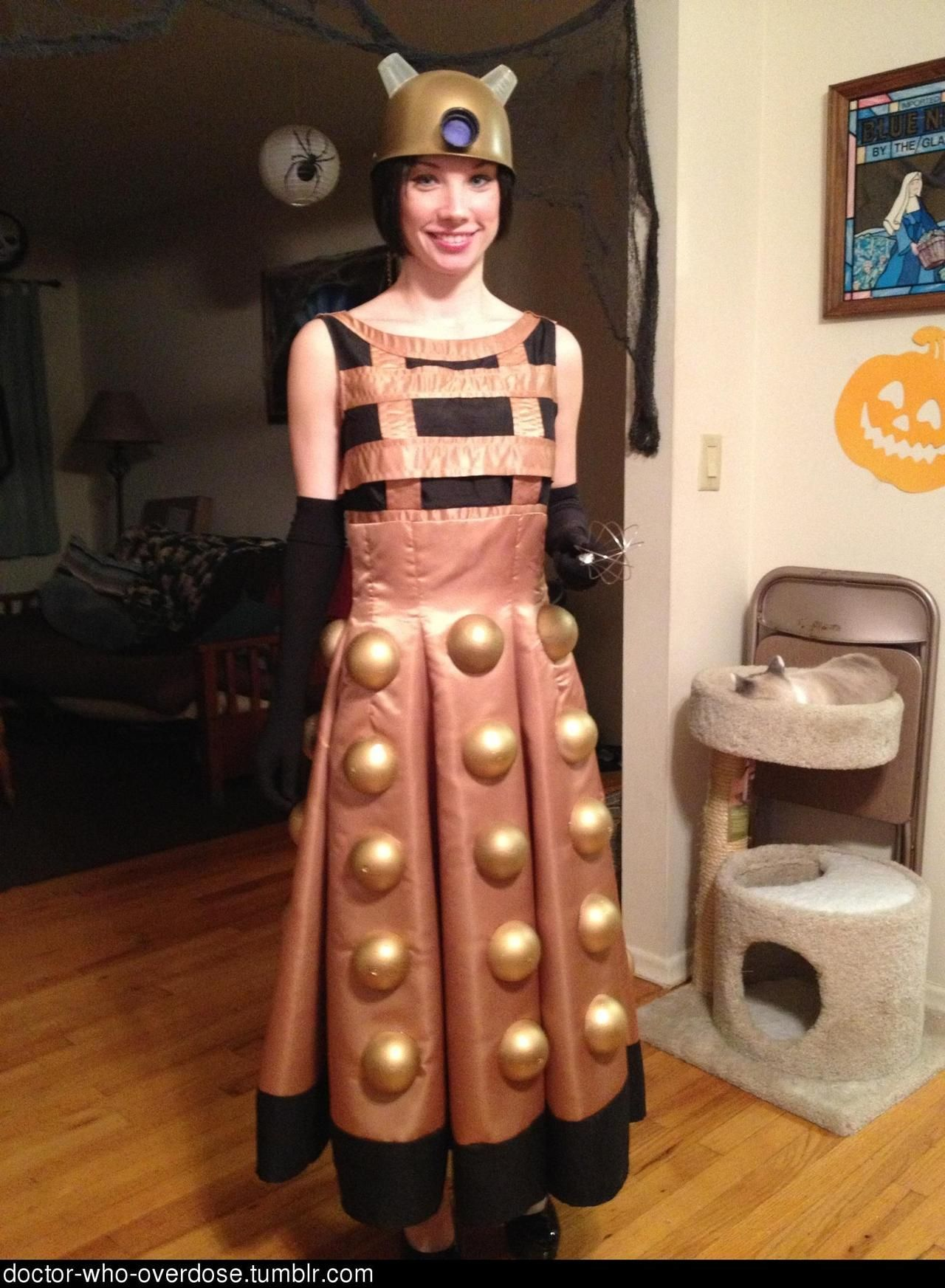 """Dalek Costume. This could be made """"quick & easy"""" if the ..."""