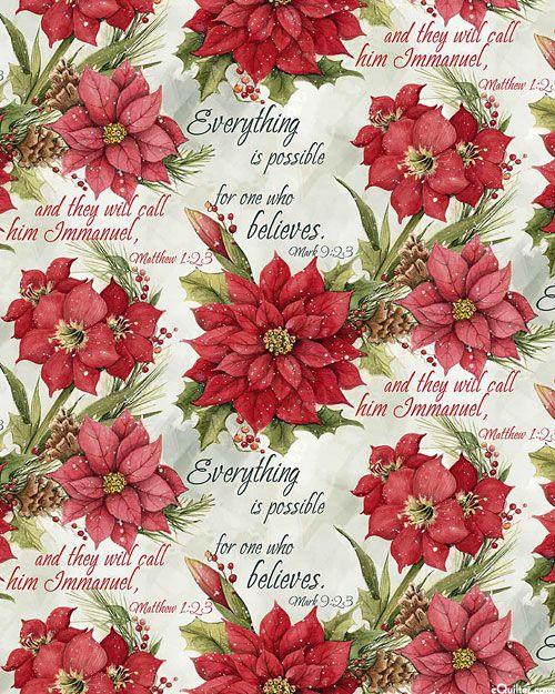 Poinsettia & Amaryllis Blush