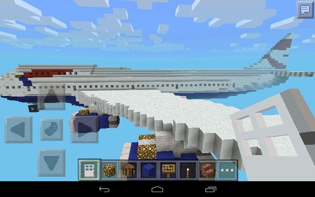 My Minecraft Boing 747 British Airways My Minecraft Builds