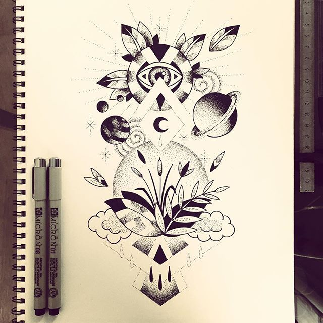 New illustration :) #2 Disponible pour tatouer  #planet #vegetal #space #illustration #tattoo #violette #bleunoir #bleunoirtattoo #violettetattoo #geometrictattoo #dotwork #blackwork #blackworkerssubmission #blacktattoo #blacktattoomag #blacktattooart #btattooing #iblackwork #inkstinctsubmission #equilattera #darkartists