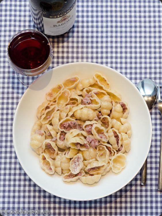 Pates Aux Saucisses Italiennes De Madame Ciao Pates Aux Saucisses Italiennes Sauce Pour Pates Recette Italienne