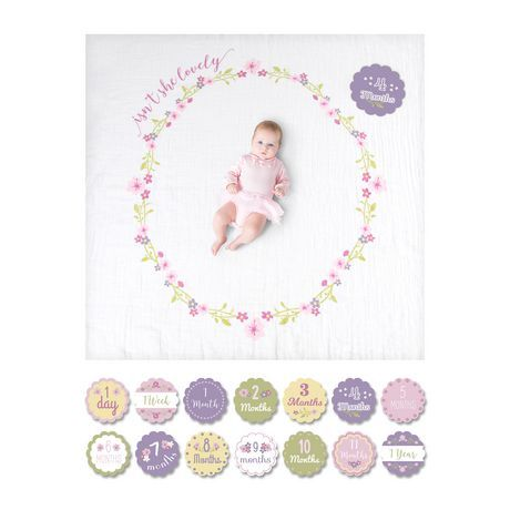 Lulujo - Baby's 1st Year - Isn't She Lovely Blanket And ...