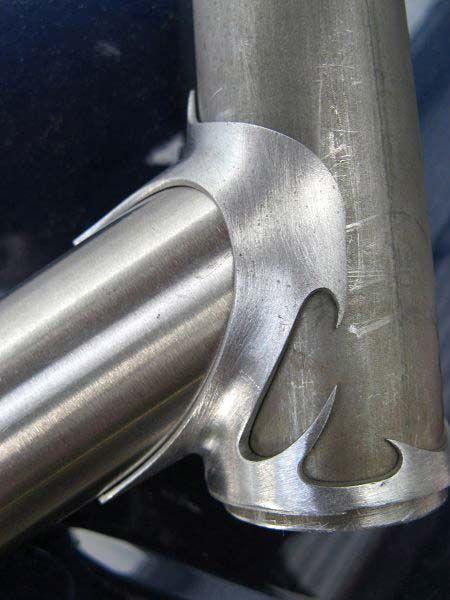 Lugged Frame Under Construction Frame Building Shot Via Google Bike Frame Steel Bike Bicycle Design