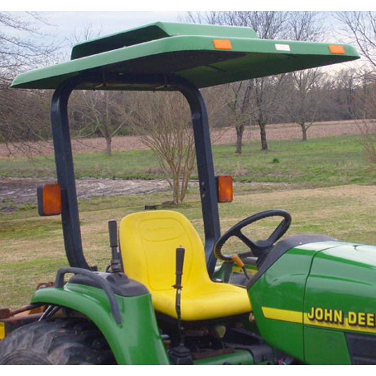 Fiberglass Tractor u0026 Mower Canopy with Down Draft Fan - Green - For John Deere Tractor & Fiberglass Tractor u0026 Mower Canopy with Down Draft Fan - Green ...