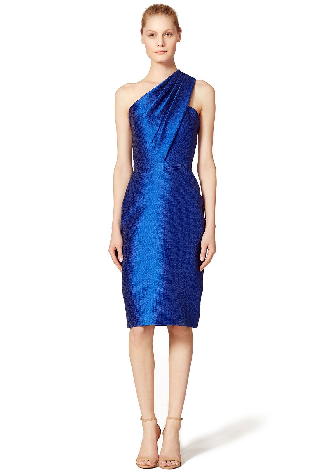 Sleek cobalt sheath by ml monique lhuillier for 75 rent the sleek cobalt sheath by ml monique lhuillier for 75 rent the runway ombrellifo Images