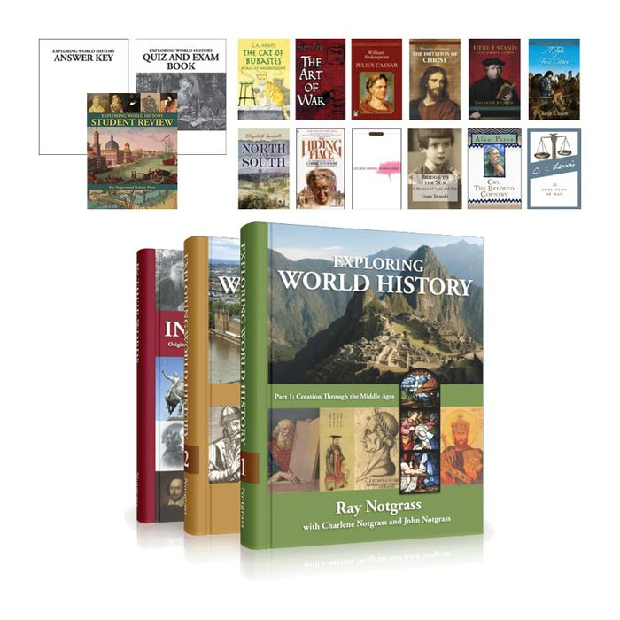 Exploring World History Complete Bundle