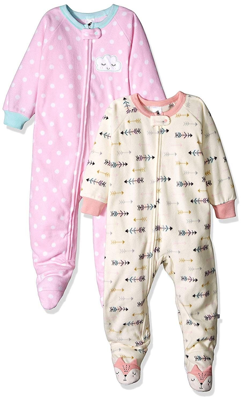 Girls' 2-Pack Blanket Sleeper - Arrow/Dot - CZ18HYZG880 | Blanket sleeper,  Girl outfits, Kids outfits