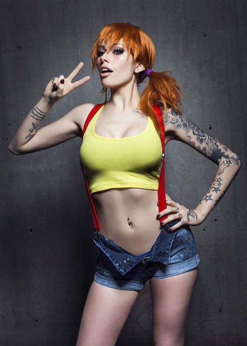 Misty from Pokemon is a favorite costume of cosplayers everywhere. #InkedMagazine #halloween #sexy #costumes #costume #pokemon #Misty  sc 1 st  Pinterest & Misty from Pokemon is a favorite costume of cosplayers everywhere ...