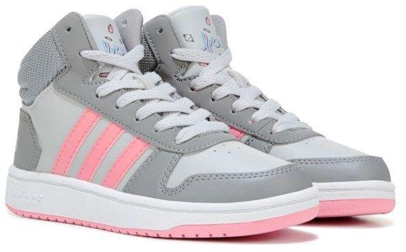 super popular ee048 ce0fe adidas Kids  Hoops 2 High Top Sneaker Pre Grade School