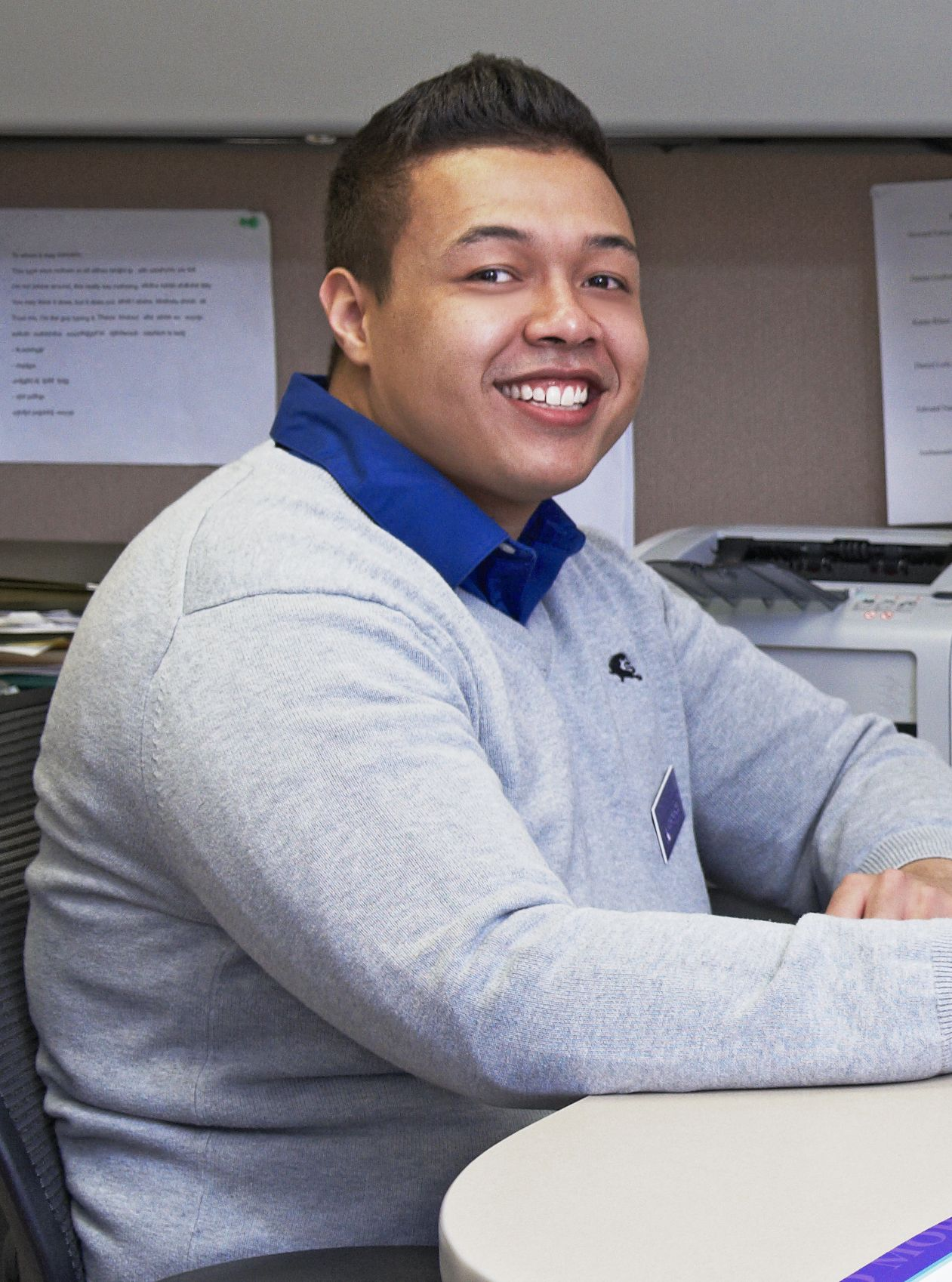 Acc student recruitment specialist edward nance earned the