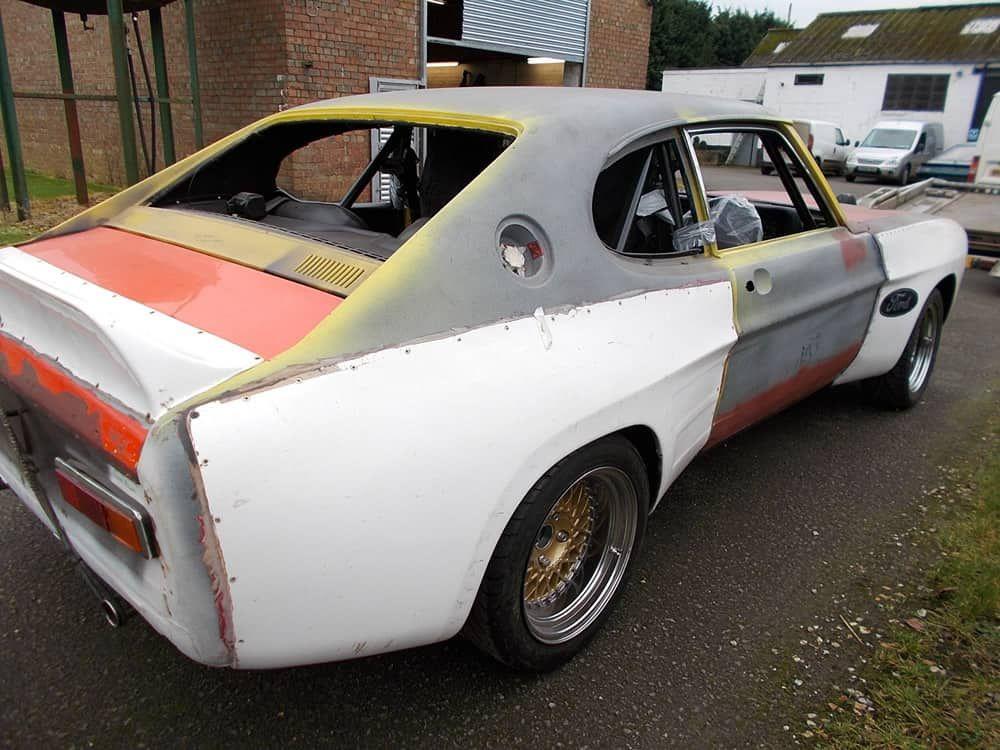 Image Result For Install Capri Cologne Body Kit Ford Capri Ford