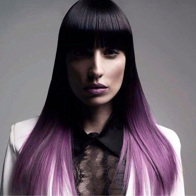 Black y violeta