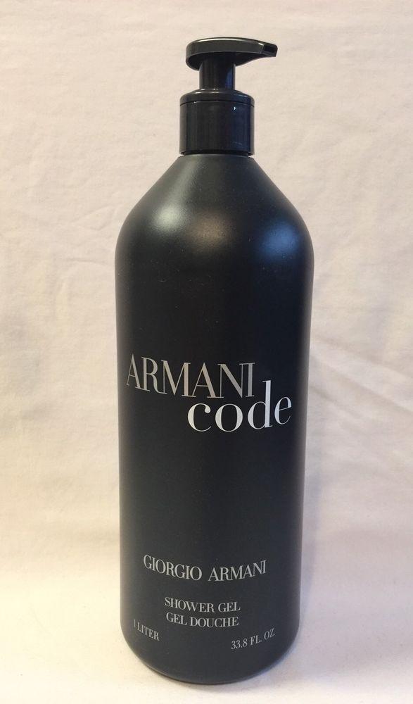 Armani Code Giorgio Men S Armani Shower Gel Body Wash Men 1 Liter 33 8 Fl Oz New Armani Shower Gel Shower Gel Body Wash